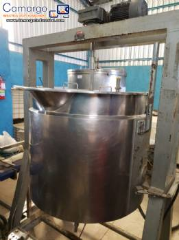 300 L stainless steel pot
