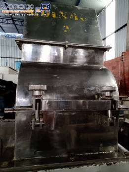 Stainless steel hammer mill 30 hp Tigre