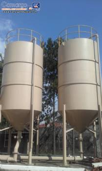 Tanks  jacketed for 20,000 liters