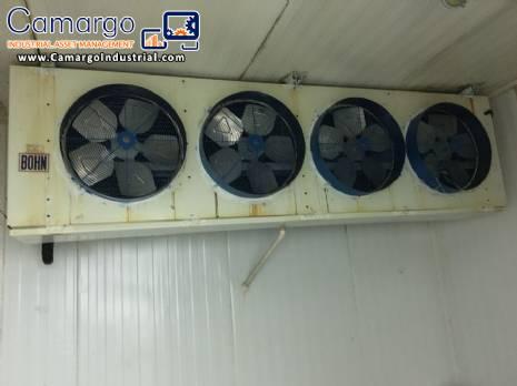Freezing chamber Heatcraft