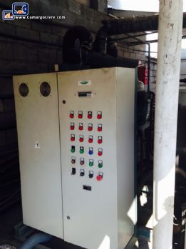 Industrial cooling system included wiring