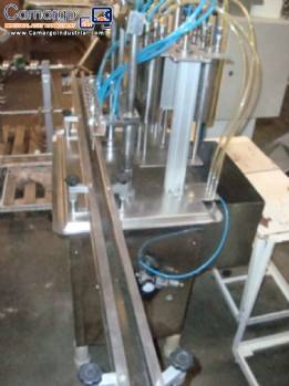 Linear filling 6 stainless steel burners