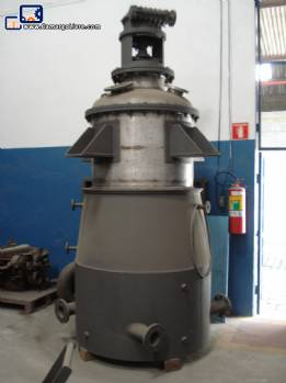 Stainless steel reactor 1250 L