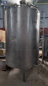 Stainless steel tank for 4,000 L Brasholanda