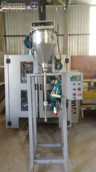 Powder dosing machine for rigid pots Embrapac
