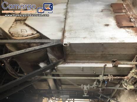 Industrial wood boiler 3.000 kg / h Ata