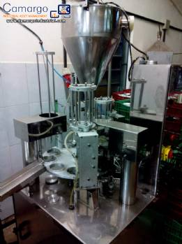 Liquid and pasty filling machine Milainox