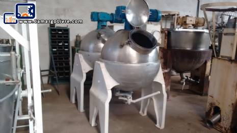 Tacho ball in stainless steel