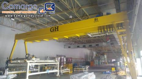 Gantry for transporting objects GH