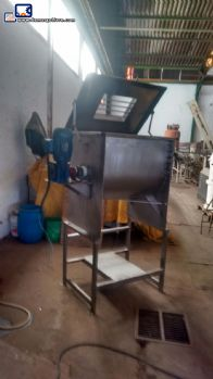Ribbon Blender Mixer stainless steel