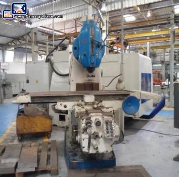 Milling machine for thinning