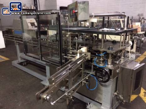 Vertical automatic cartoner Fabrima