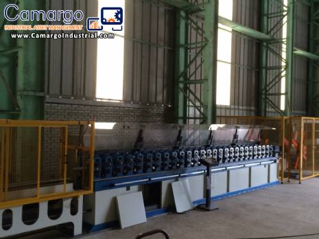 Roll forming machine with 24 stages Daltec
