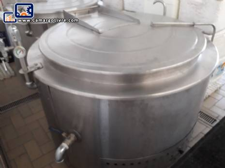 Cooking machine 500 liter  Topema