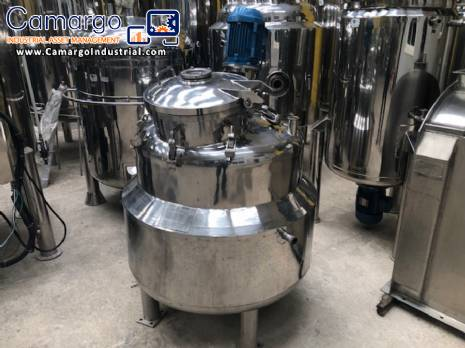 Process reactor in stainless steel 250 L