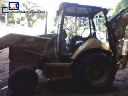 CAT 416 backhoe 4 x 2