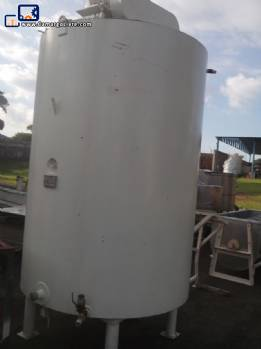 Carbon steel tank of 3500 litres Apema brand