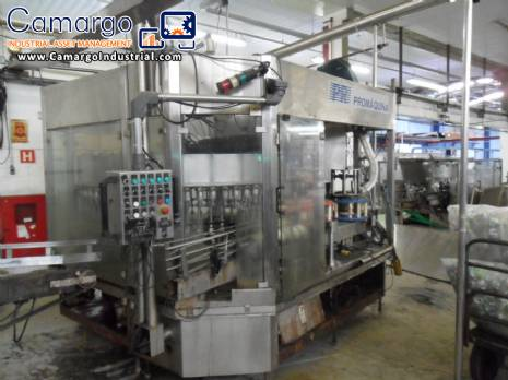 Rotary filling machine with 60 filling nozzles Promáquina
