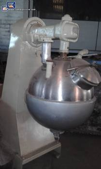 Industrial spherical cooker for sweets