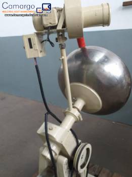 Stainless steel dredger 100 L Lawes