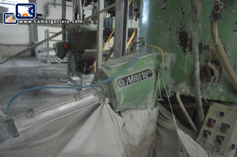 Industrial Mixer for PVC Miotto