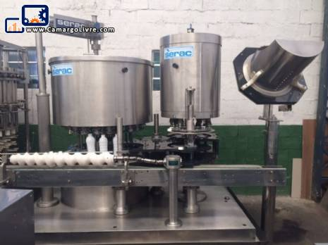 Automatic rotary filling system Serac