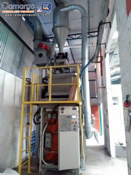 Micronizer mill 450 kg h Rotoline