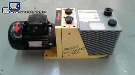Dual Stage Vacuum Pump Galileo