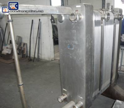 Stainless steel heat exchanger Alfa Laval