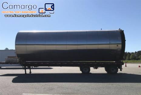 Stainless steel tank for storage 30.000 L