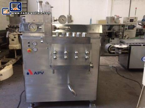 Homogenizer in stainless steel APV