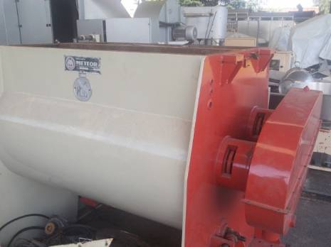 Industrial mixer/mixer manufacturer Meteor with 2 axes for 1000 kg