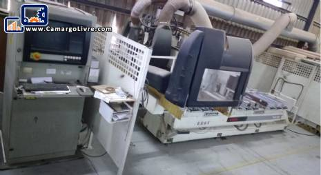 Set of machines for joinery