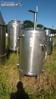 Storage tank in stainless steel 600 L
