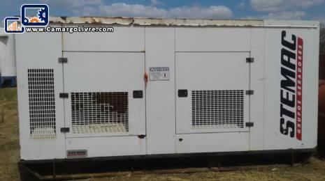 Generator for 500 kva Stemac