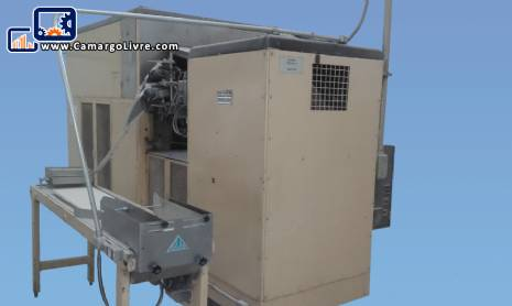 Industrial furnace for manufacturing of tubes / rolls / rolls of wafer to ice creams and sweets