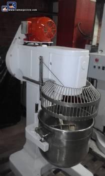 Industrial mixer for 60 liters