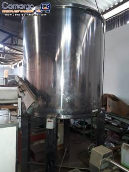 Stainless steel tank 2600 L