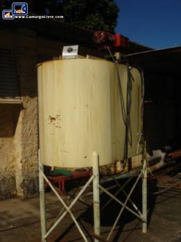 Storage tanks with heating 100 liters