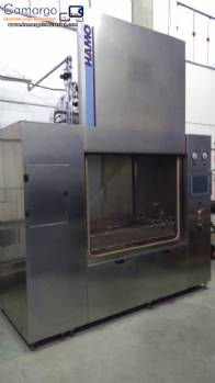 Industrial washer for parts components laboratory Hamo