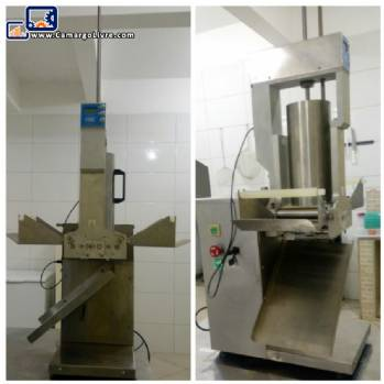 Machine for making ravioli for 50 kg HMT