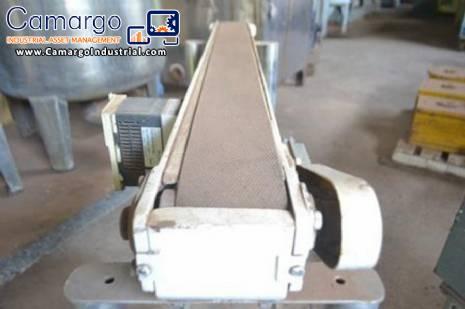 Conveyor belt 1.25 meters long