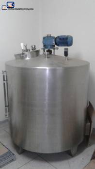 Stainless steel fermenter 500 L Incomar