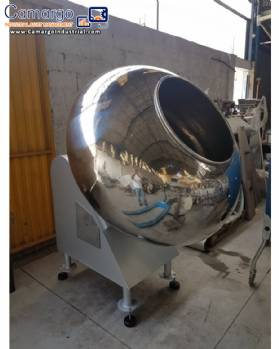 Stainless steel rotary mixer 200 L