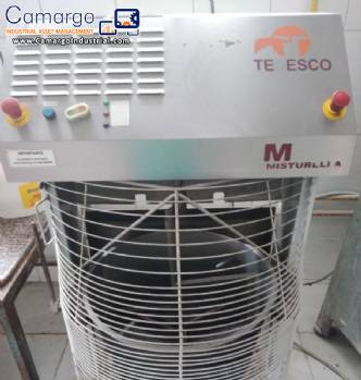 Mixer with gas heating 75 kg Misturella Tedesco