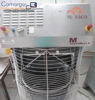 Mixer with gas heating 75 kg Misturella Tedesco