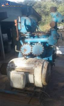 Compressor with 125 hp Madef