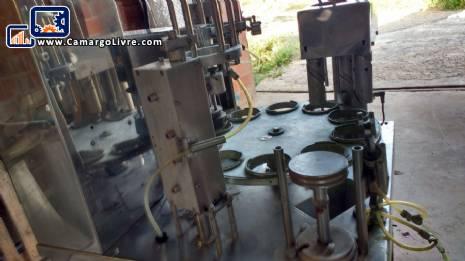 Rotary cup filling machine Milainox M 22