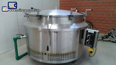 Big pot 500 l autoclave Mobinox